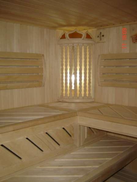 Отделка бань и саун. мебель для бани предбанника