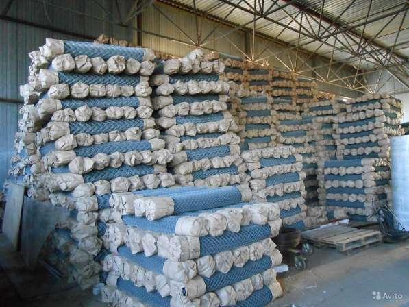 Продаем сетку-рабицу от производителя в Москве