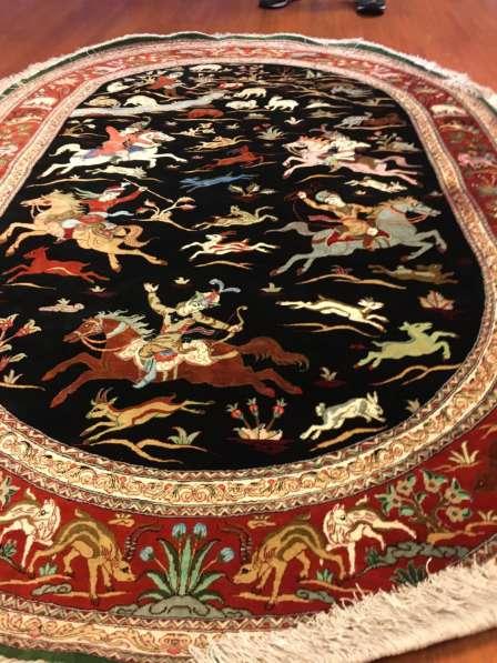 Персидский овальный ковер ручной работы