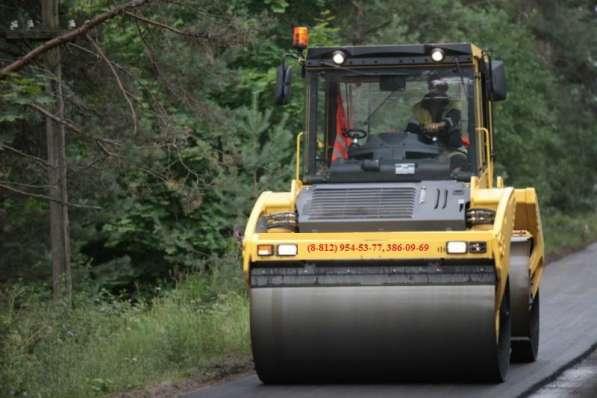 Асфальтирование дорог и благоустройство территорий в СПб