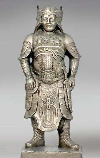 скульптура Древнекитайского воина