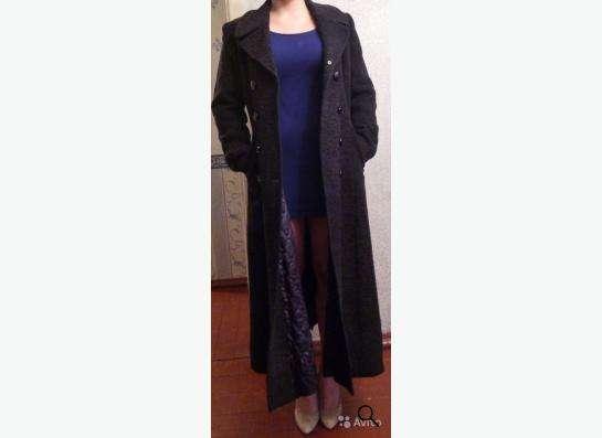 Строгое классическое пальто в Кандалакше фото 4