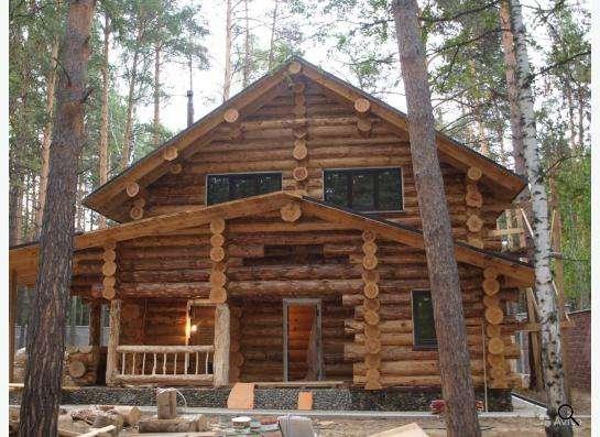 Деревянные дома, бани любой сложности в Новосибирске фото 4