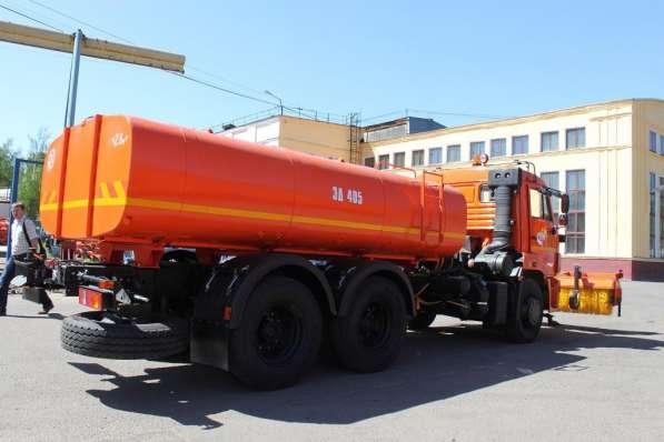 Комбинированная дорожная машина ЭД-405Б на шасси КАМАЗ-65115 в Москве