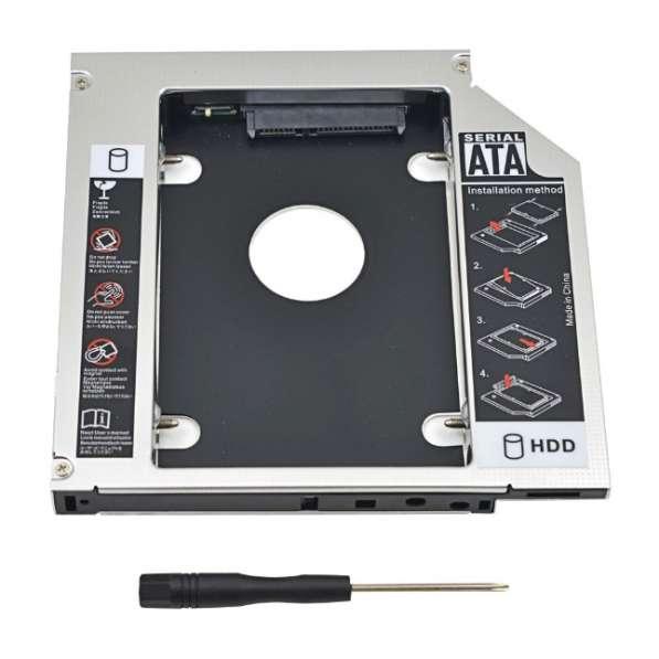 "Optibay, адаптер для подключения 2.5"" HDD/SSD, 12.7 мм, Sata"