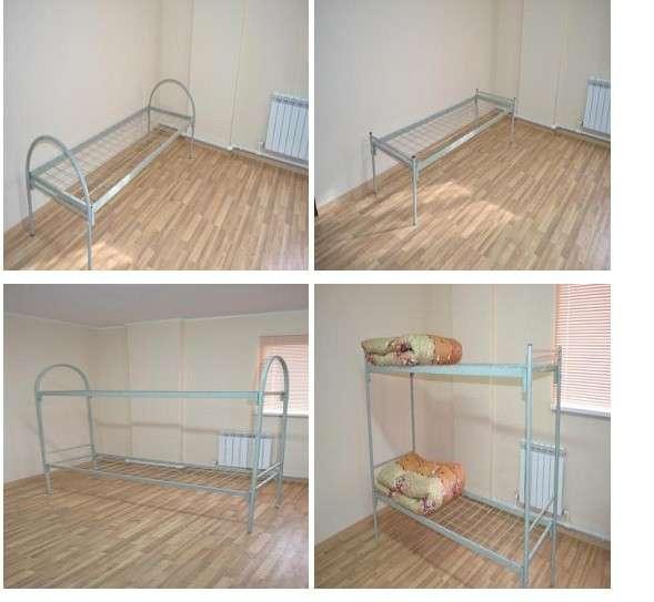 Кровати металлические эконом-класса