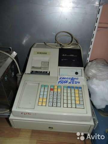 торговое оборудование Кассовый аппарат N224