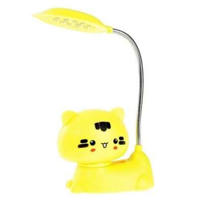 Киса светильник LED желтый