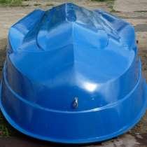 Стеклопластиковая вёсельно-моторная лодка, в Красноярске