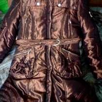 Шикарное зимнее пальто для девочки-подростка, в Москве