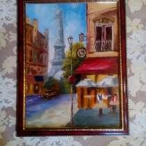 Картина Париж (живопись, масло), в Москве