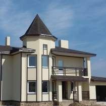 Коттедж новый в поселке Ла-Манш Новорижское шоссе, в Звенигороде