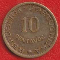 Сан-Томе и Принсипи Португальское 10 сентаво 1962 г, в Орле