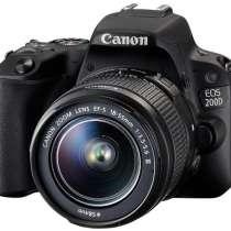 Canon EOS 200D kit (18-55mm) EF-S IS STM black, в г.Сумы