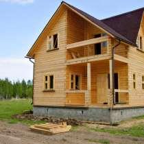 Дом из бруса, в Москве