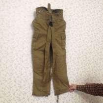 Продам брюки от камуфляжа на подтяжках, утеплённый подклад, в Новосибирске