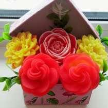 8 марта - цветы в коробочке, в Орске