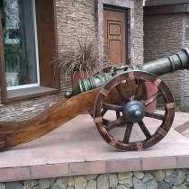 Копия старинной пушки, в Бердске