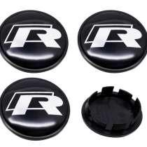 Заглушки R-Line в диски VW, в Москве