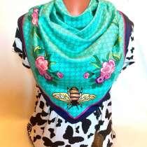 Новый шёлковый платок Gucci, в Санкт-Петербурге