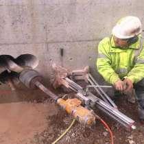 Сверление отверстий в ж/бетоне, в Тольятти