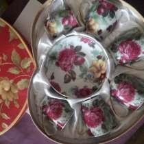 Продается набор чашек с блюдцами, в г.Ташкент