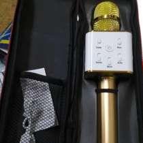 Караоке-микрофон Q7 с динамиком с чехлом, в г.Киев
