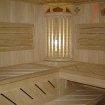Отделка бань и саун. мебель для бани предбанника, в Воронеже