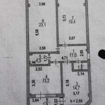 3-комнатная квартира, пр. Женис угол ул. Маскеу, 89,2 кв. м, в г.Астана