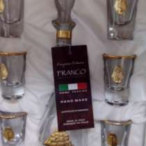 Набор итальянский с позолотой, в Геленджике