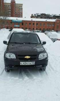 внедорожник Chevrolet Niva, в Омске