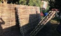Плетеный забор из лозы, в г.Чернигов