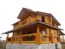 срубы деревянные дома бани беседки храмы, в Брянске