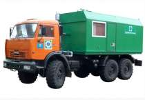 ППУА-1600/100 Паропередвижная установка, в г.Салехард