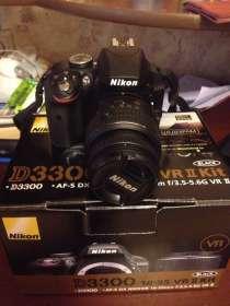 Фотоаппарат Nikon D3300 18-55vr kit, в Москве
