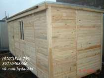 Дачные вагончики (бытовки) деревянная це, в Череповце