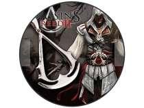 Кулон Assassins Creed + каучуковый шнурок + бархатный мешок, в Перми