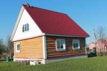 Рубленый дом и баня на участке 15 соток, в г.Киржач