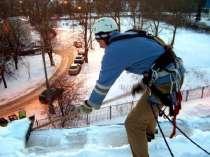 Очистка кровли от снега с привлечением альпинистов, в г.Минск