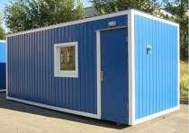 Модульное здание на основе 20 фут контейнера офис/бытовка во, в Владивостоке