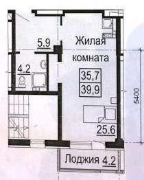 Однокомнатная квартира Крестинского 35, в Екатеринбурге