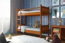 Двухъярусная кровать с матрасами. Новая, в Москве