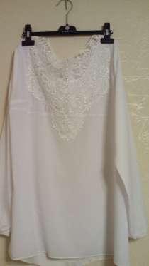 Блузка белая 44-46 размер, в Москве