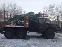 Лесовоз на базе шасси Урал, в Перми
