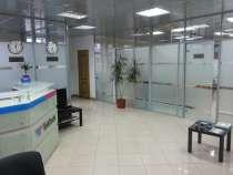 Стеклянные, каркасные, офисные перегородки, в Казани