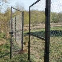 Ворота с сеткой или прутьями, в г.Ясный