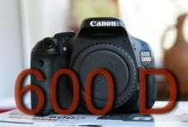 Фотоаппарат canon 600 D body, в Волжский