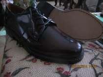 Туфли мужские новые 42 размер из натуральной кожи, в Воронеже