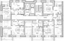 2к в новом доме 51м2 кухня 19м2, в Тюмени