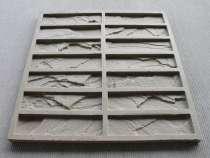 Форма для декоративного камня, Кирпич колотый 0,29м2, в Ростове-на-Дону